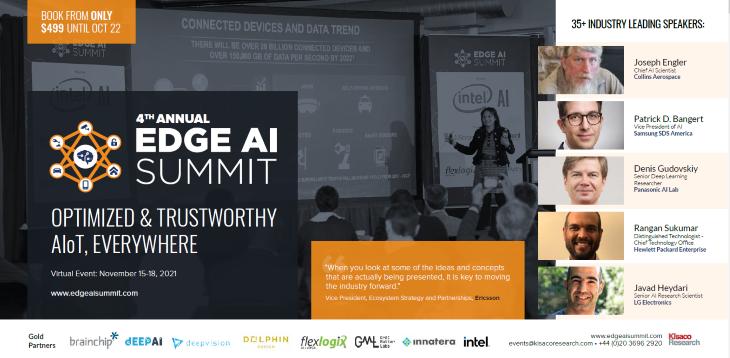 Edge AI Summit 2021 Agenda